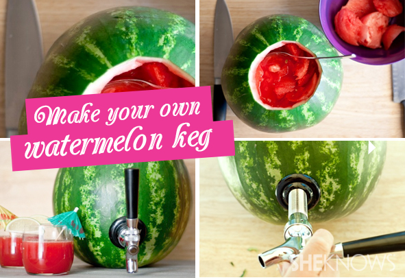 watermelon keg