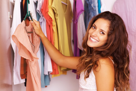 Shop for new looks in your own closet