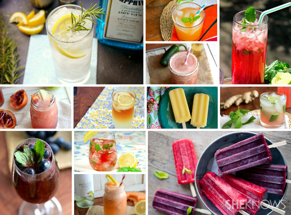 12 summer cocktail recipes