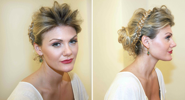 The Grecian Updo