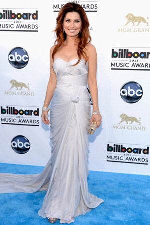Shania Twain at the Billboard Music Awards