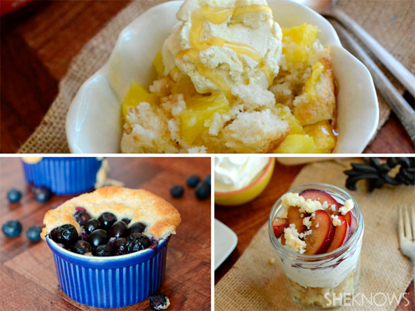 Cobbler, three ways
