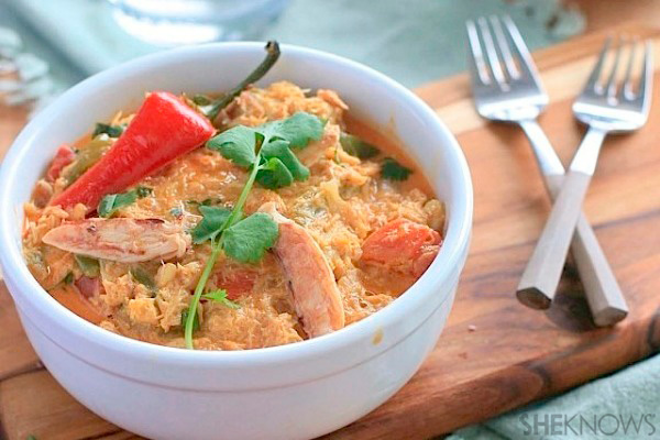 ... crab dish comes together easily. Use canned crab from the refrigerated