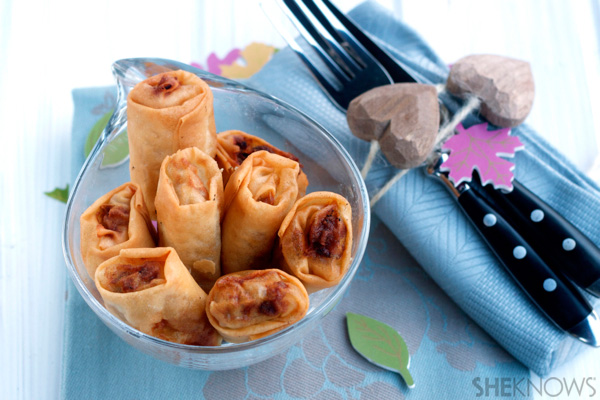 Make your own spring rolls!