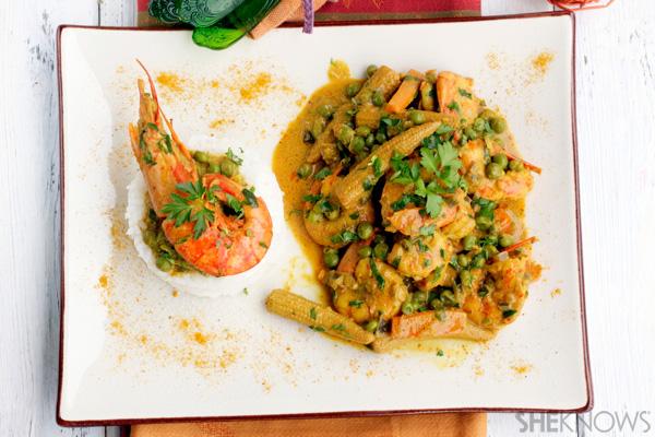 Easy curry dinner