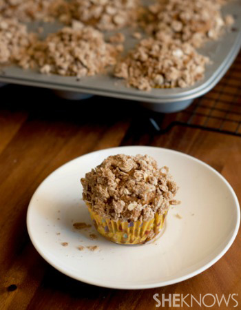 Apple pie morning muffins recipe
