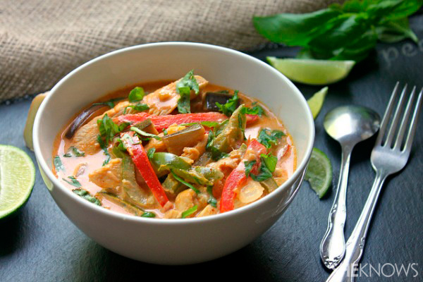 Thai chicken curry recipe