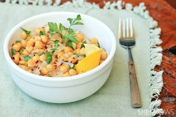 Greek Garbanzo Bean Salad Recipes — Dishmaps