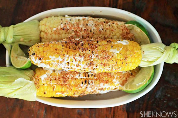 Simple roasted corn is a staple at barbecues, but you'll ditch the ...
