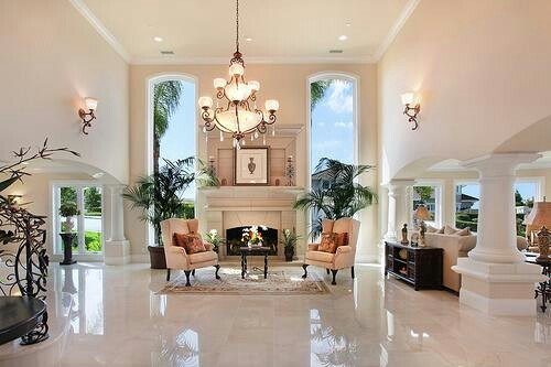 Luxury formal living room