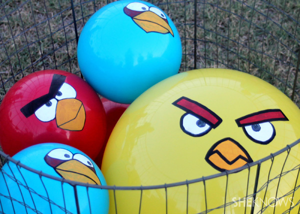 How to make a life-size Angry Birds game