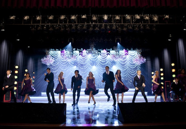 The glee club performs at regionals