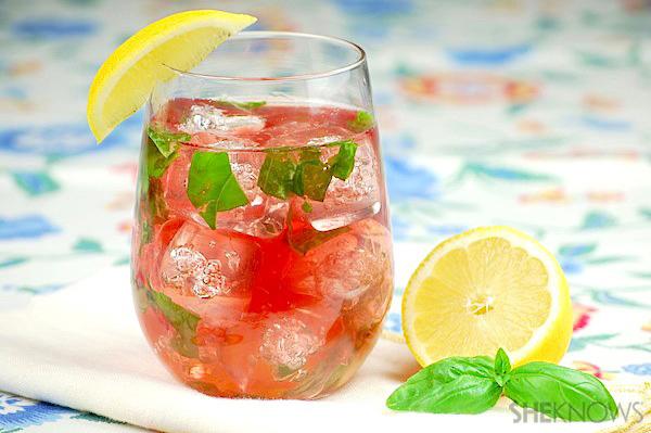 rose wine cocktails