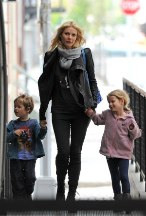 Gwyenth Paltrow and kids