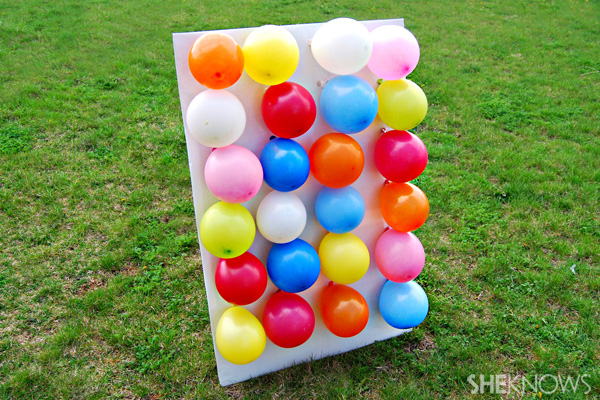 Create An Outdoor Kids Carnival With Cardboard Boxes