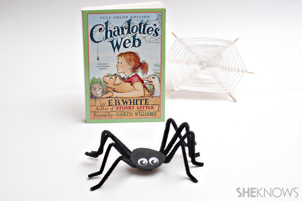 Charlotte's Web craft