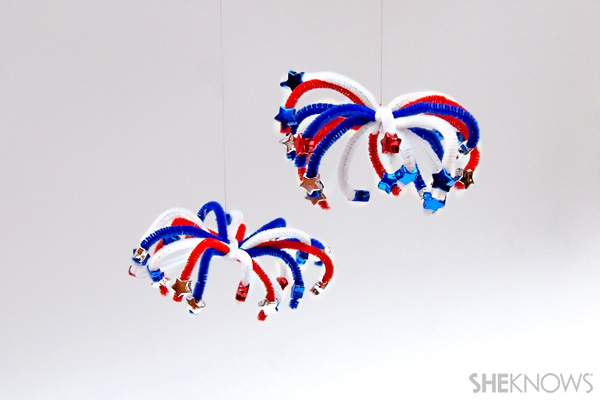 Sparks fly with these 4th of July crafts!