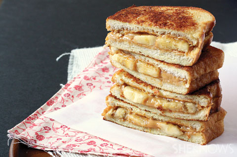 Peanut butter and banana French goat