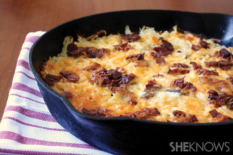 potato bacon hashbrown casserole