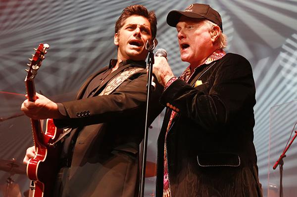 John Stamos and Brian Wilson