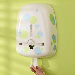 diaper and wipe dispenser