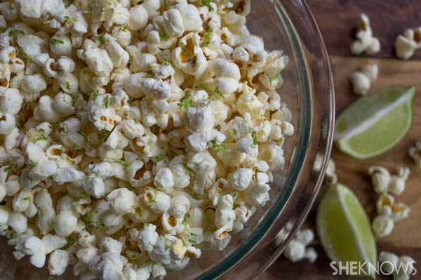 Salty Lime Popcorn Recipe | SheKnows
