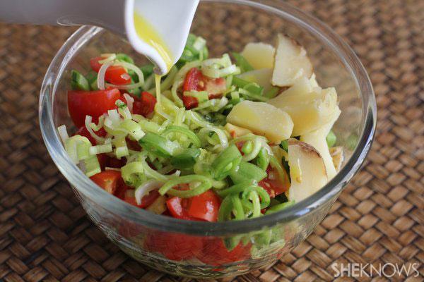 Farmers market salad dressing