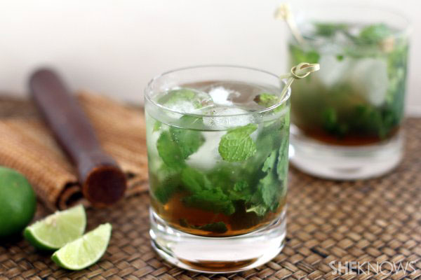 Keep cool with coconut and mint