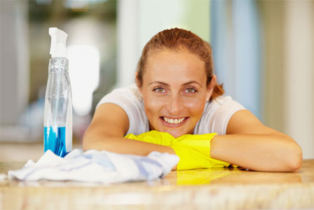Clean your home in 10 minutes a day
