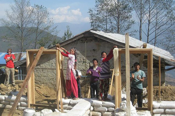 Build a school in Nepal