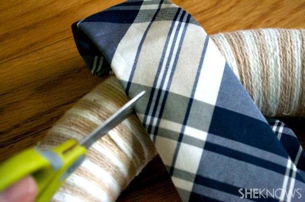 Cut tie.