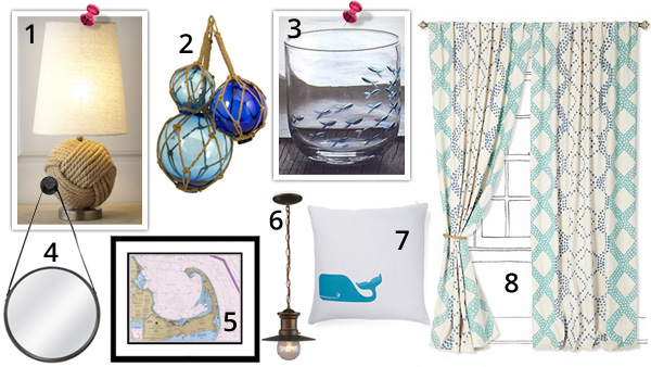 A fresh take on nautical decor