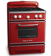 Big Chill Cherry Red Stove