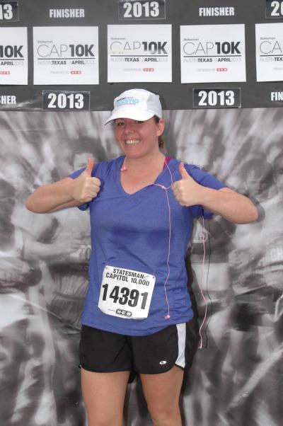 Leigh Ann- CAP race
