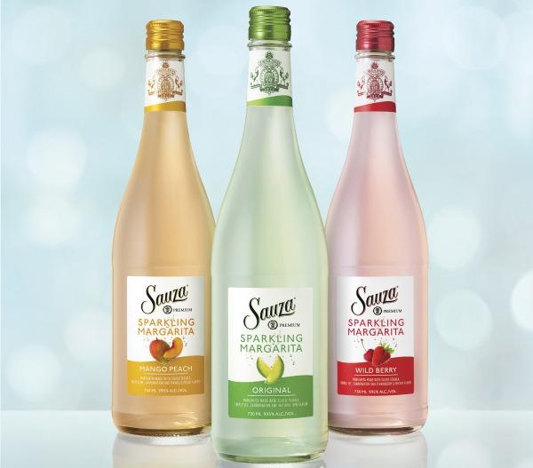 Sauza Sparkling bottles