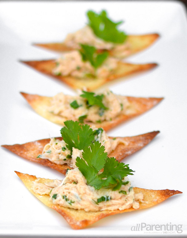 allParenting crispy crab wonton appetizer