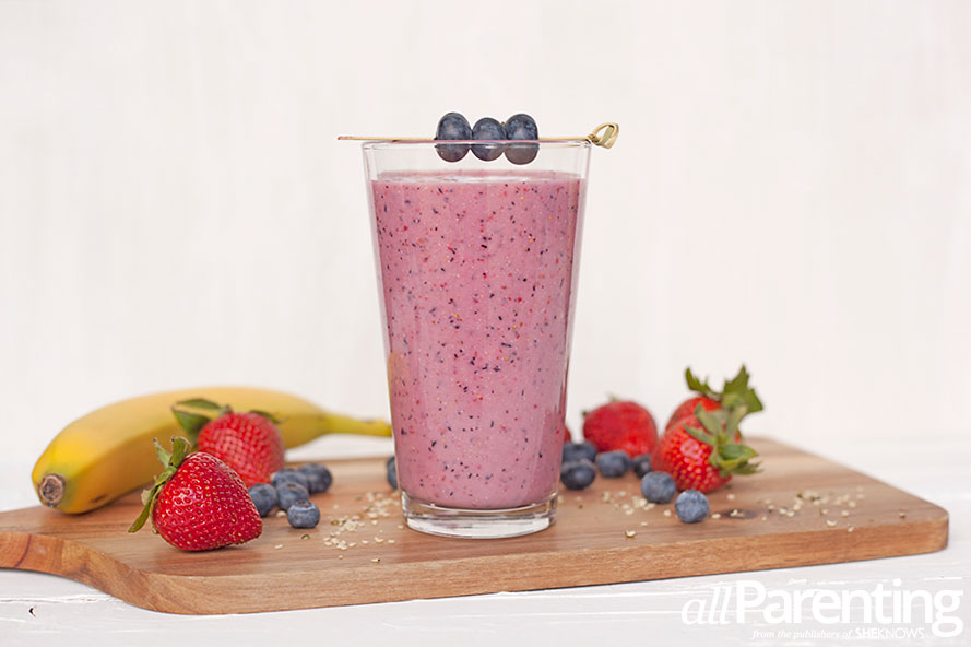 allParenting Very berry hemp smoothie