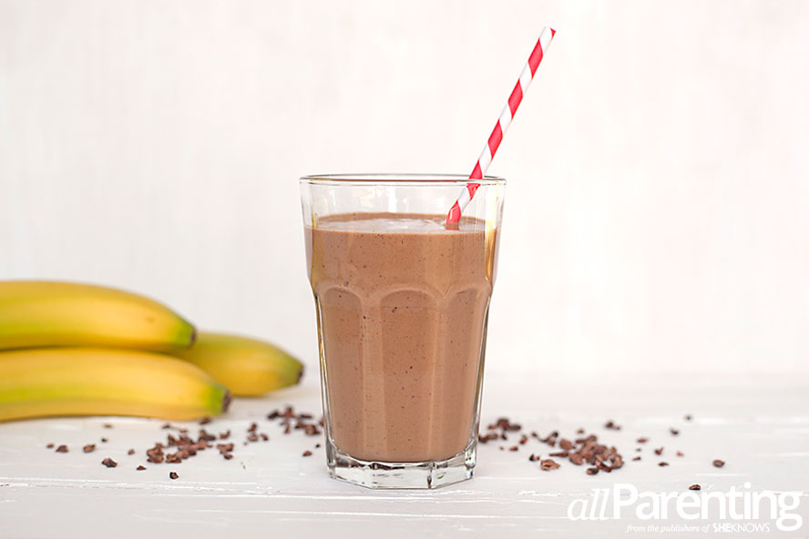 allParenting Raw chocolate smoothie