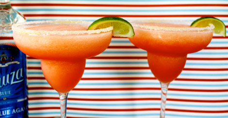 Frozen cherry lime Sauza-rita