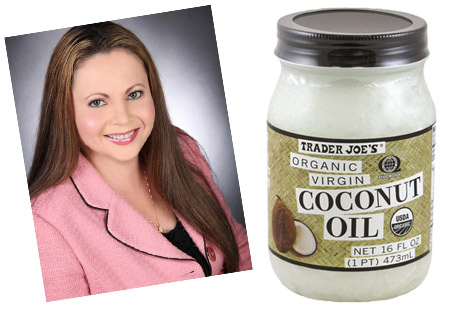 Julia Davis- coconut oil