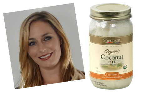 Sara Bumby coconut oil
