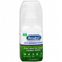 First aid Benadryl spray