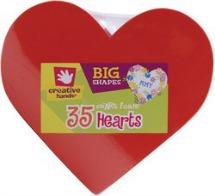 gift giving- foam hearts