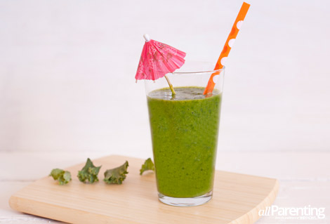 allParenting Tropical kale smoothie