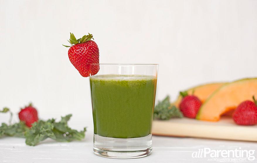 Green cantaloupe juice allParenting