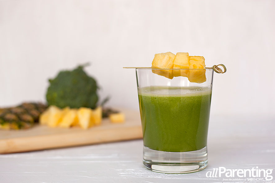 Green pineapple juice allParenting
