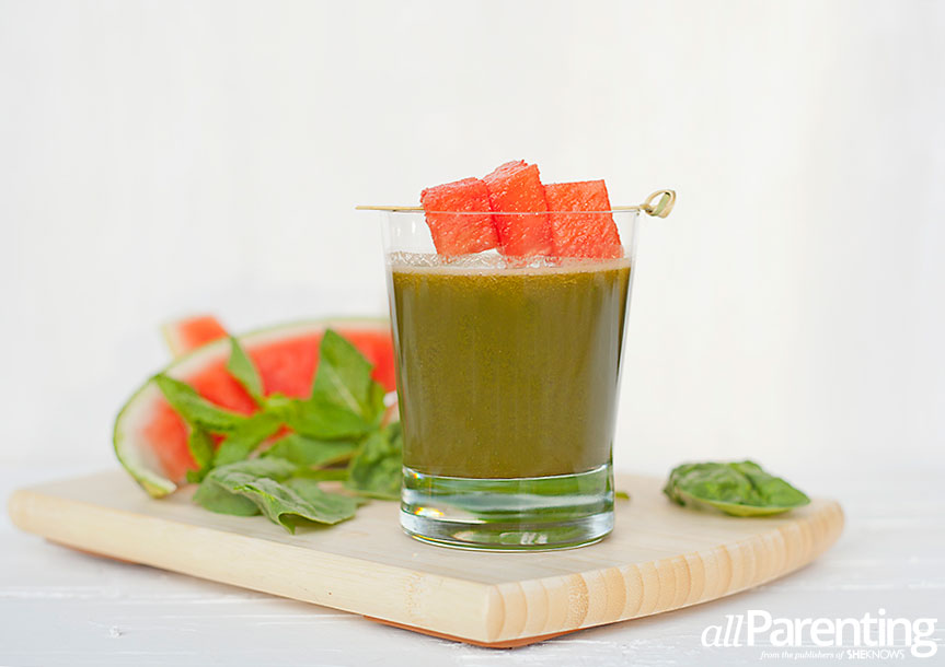 Green watermelon juice allParenting