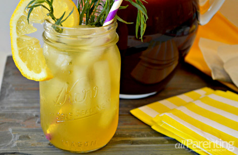 tarragon lemon iced tea