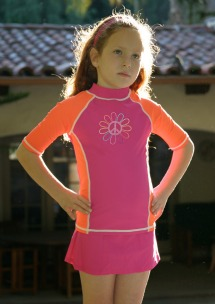 GrUVywear SwimZip Rash Guards