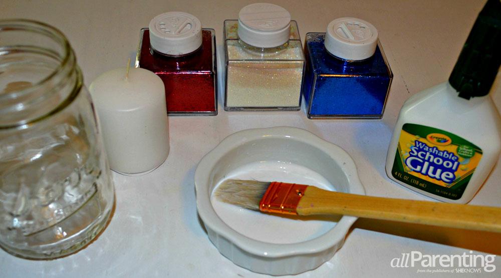 memorial day jar materials